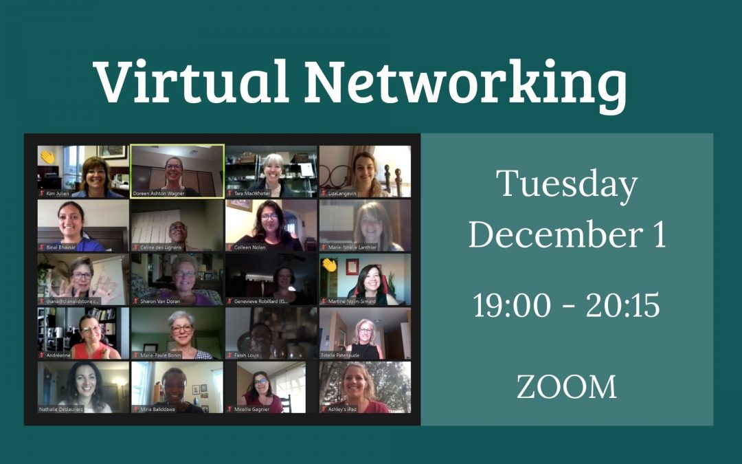 Virtual Networking – Tuesday, December 1, 2020
